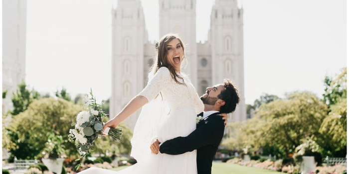 Chloe and Michael, Salt Lake Temple + Park City Wedding