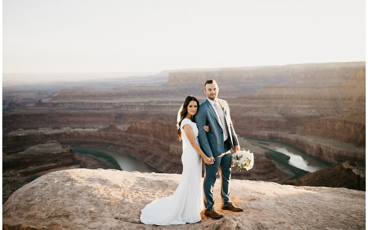 Heather and Colin, Bridals at Dead Horse Point
