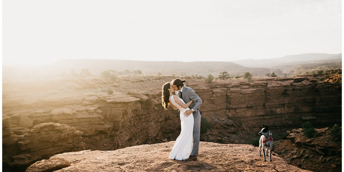 Rachel and Matthew, Capitol Reef National Park Intimate Wedding