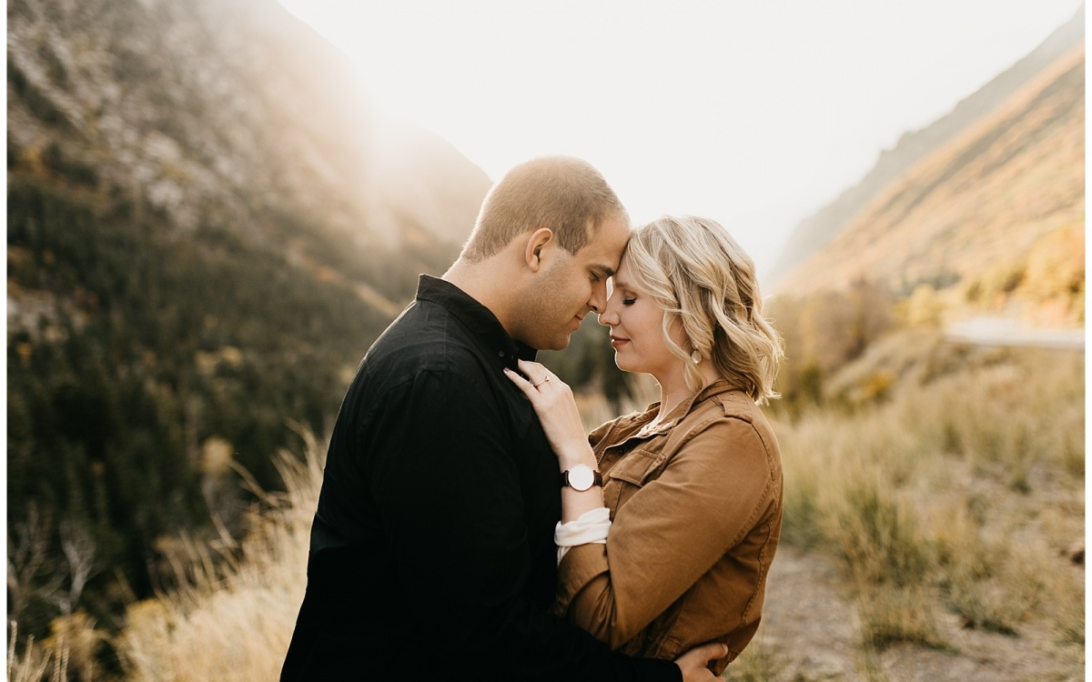 Shaundra and David, Little Cottonwood Canyon Engagements