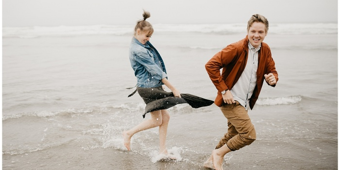 The Straders, Couple's Session at Cannon Beach & Dead Man's Cove, Oregon