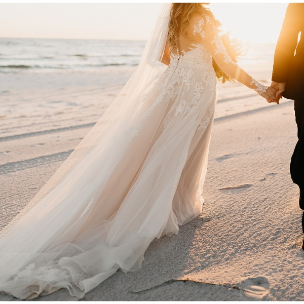 Christina and Russel, Intimate Florida Wedding at Eden State Park & 30A Beach