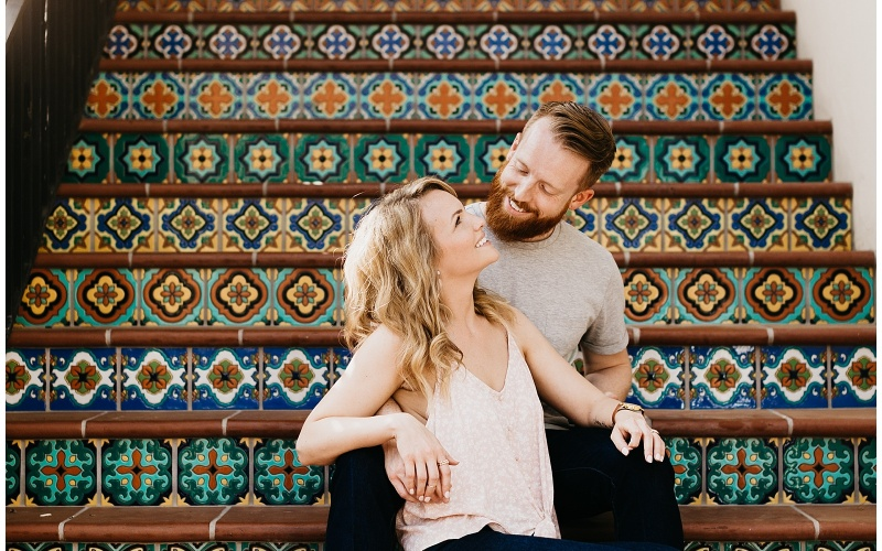 Elisabeth and Ben, Couple's Session at Highland Park, Dallas