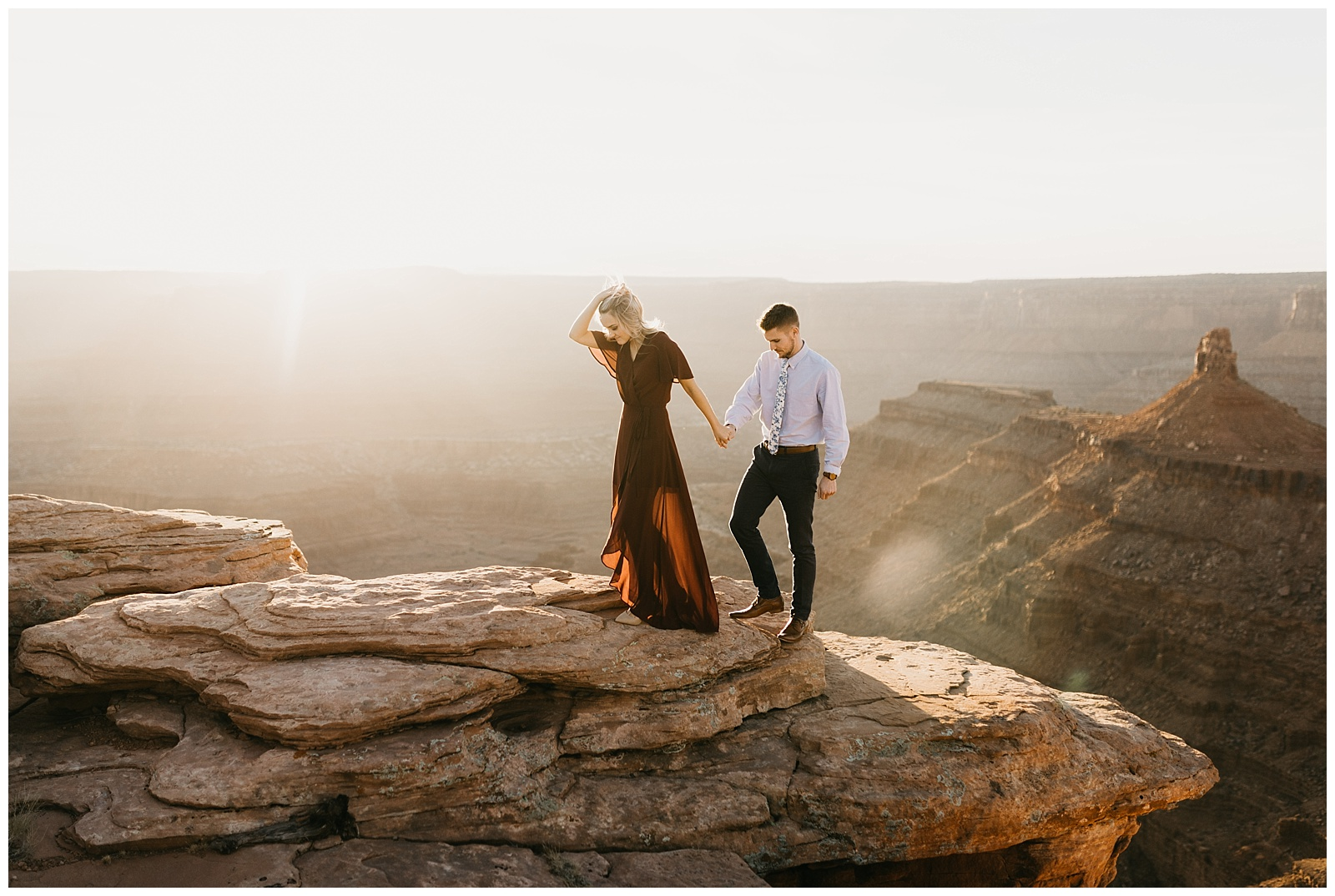 Paige And Austin Adventure Engagements In Moab Utah
