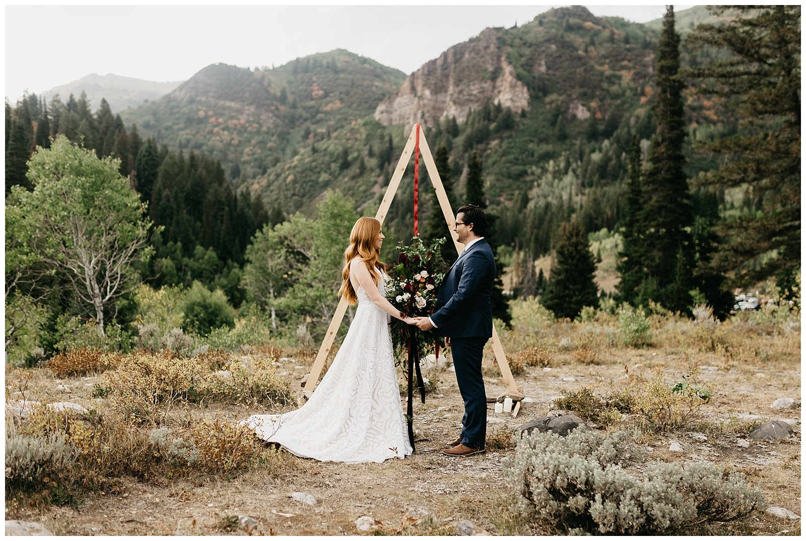 Harry Potter mountain wedding