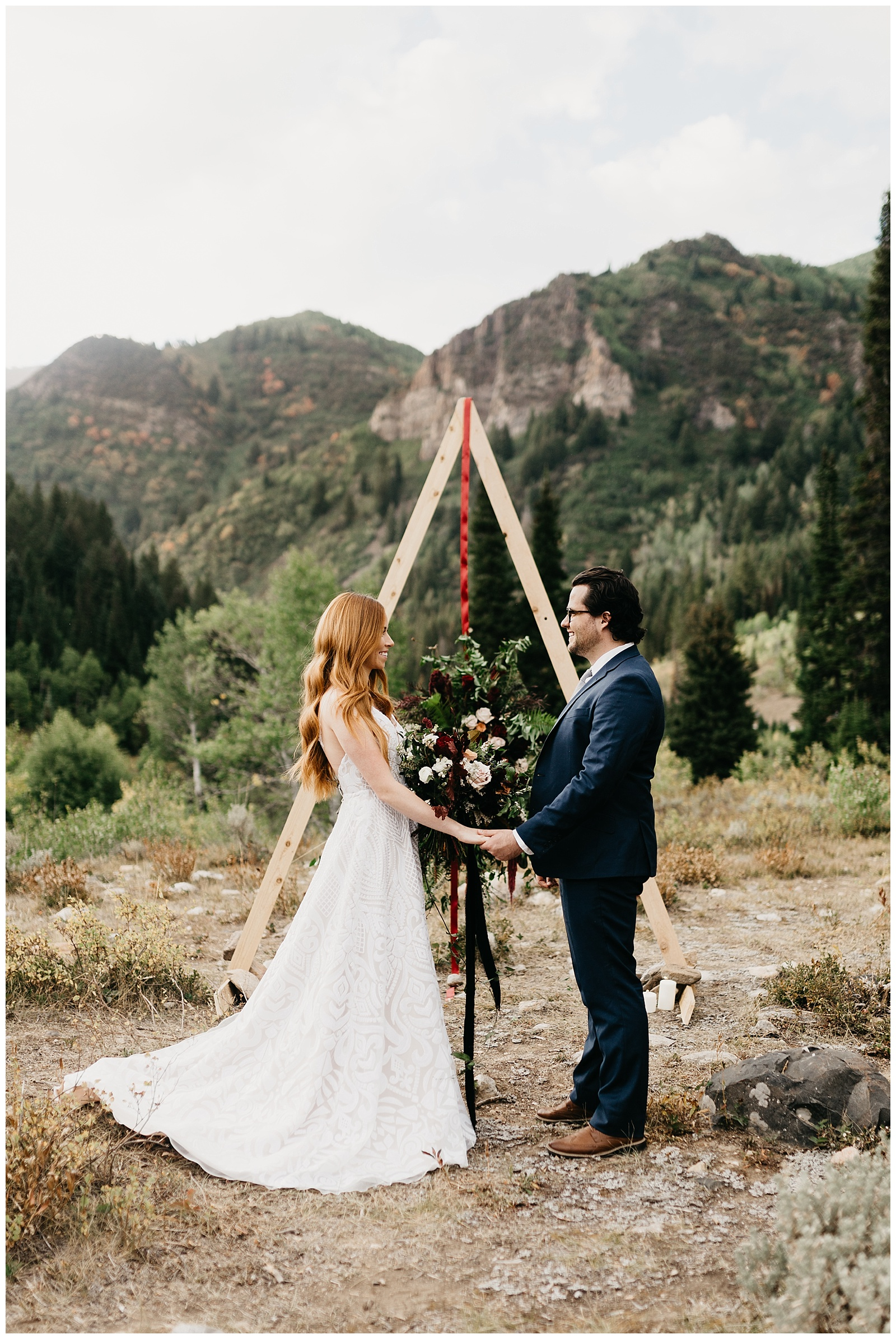 bohemian Harry Potter wedding