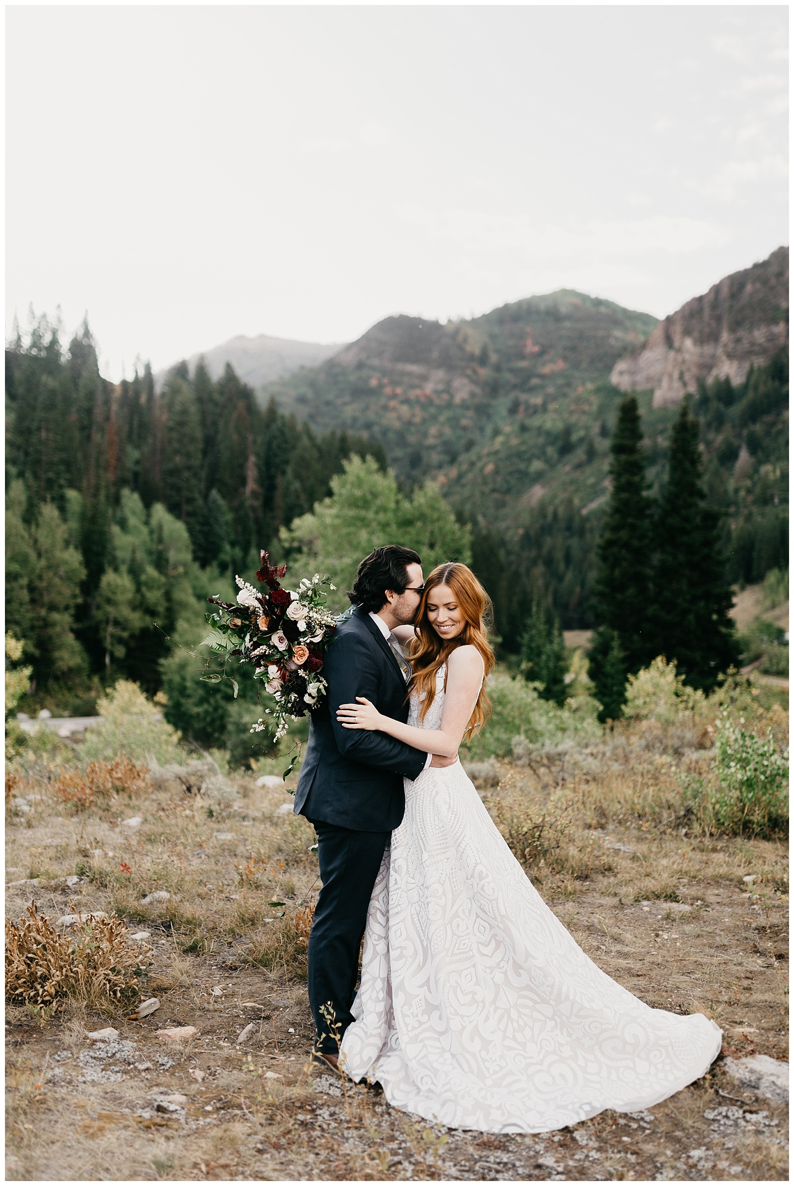 Utah mountain elopement