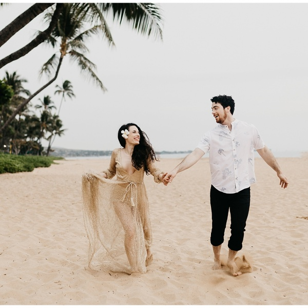 Jaime + Ben, Maui Beach Session