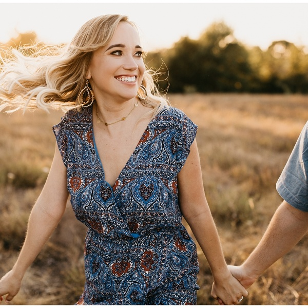 City + Prairie Engagements in Downtown Fort Worth, Texas   Ellie + Jonathan