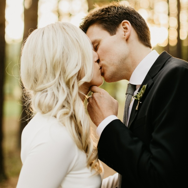 Woodsy, Autumnal Intimate Wedding at the Inn at Serenbe, Georgia | Megan + Andrew