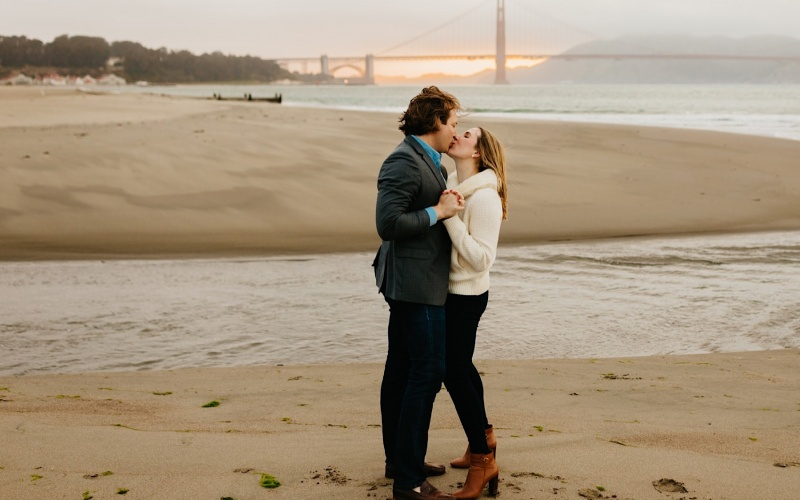 Playful San Francisco Engagement Session | Bay Area Wedding Photographer | Megan + Brittan