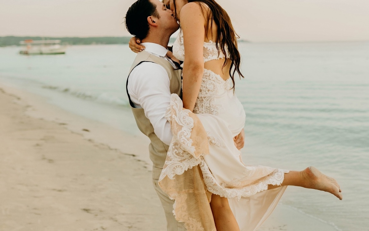 Jamaica Destination Wedding | Negril, Jamaica | Sabrina + Byron